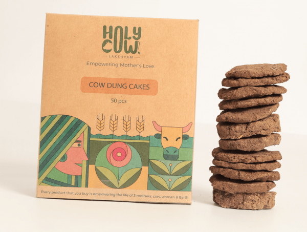 Cow Dung Cakes 1